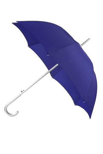 Автоматичен дамски чадър Samsonite в син цвят