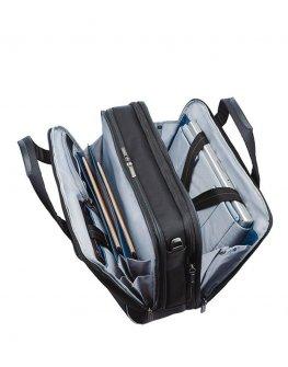 Черен мобилен офис Samsonite с разширение за 17.3 инча лаптоп Spectrolite