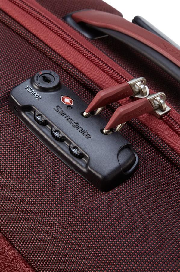 Червен куфар Samsonite Motio - 68см.