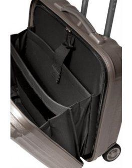 Землисто кафяв мобилен офис Samsonite за 16 инча лаптоп