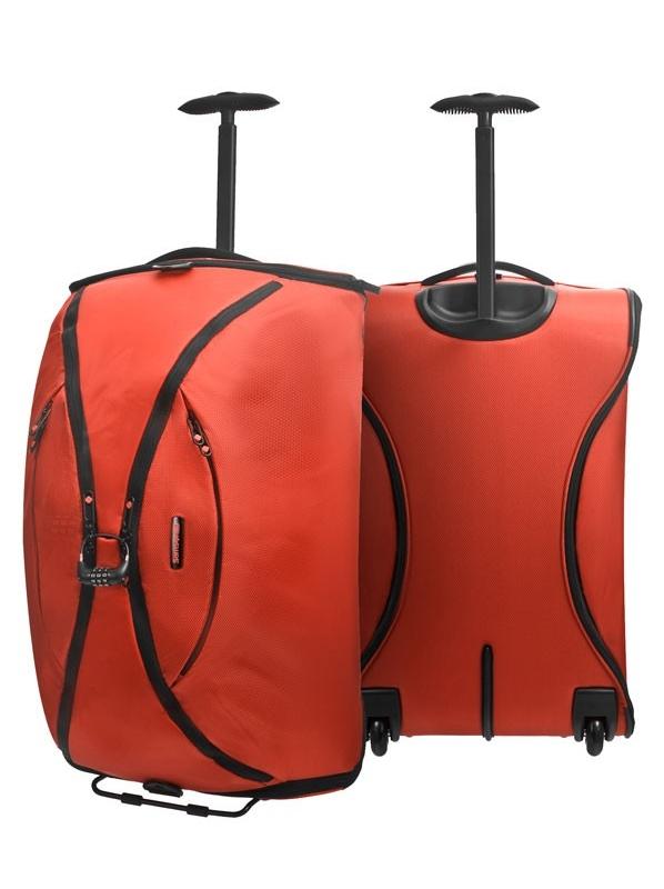 Оранжев сак Samsonite на колела 63 см Duo Plyer