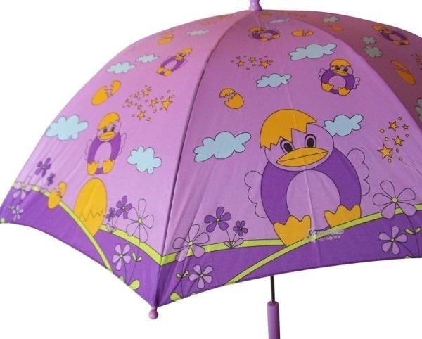 """Детско чадърче Samsonite, десен """"пиле"""""""