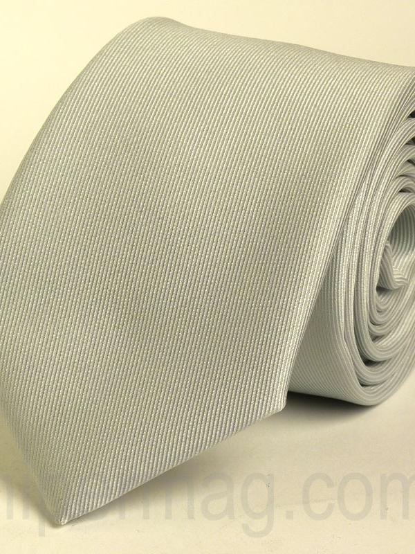 Светлосива вратовръзка от New Style