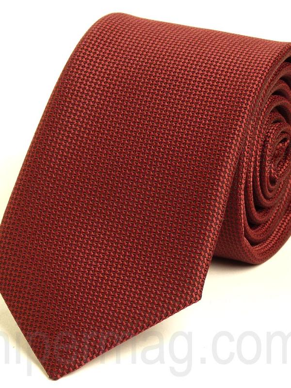 Тъмночервена мъжка вратовръзка New Style