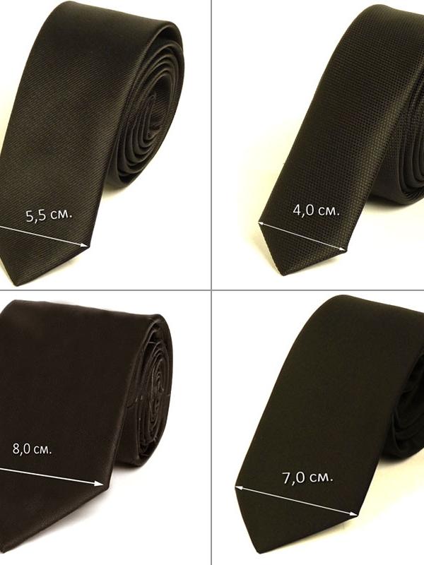 Красива мъжка вратовръзка New Style в кафяво