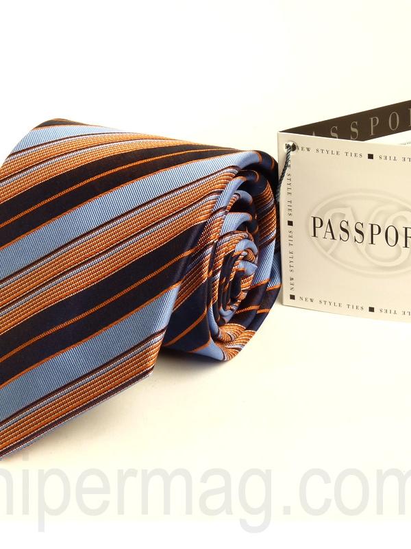 Елегантна мъжка вратовръзка New Style с десен райета