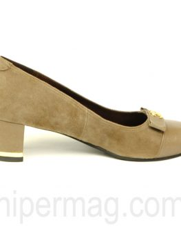 Стилни дамски обувки Balis в цвят каки