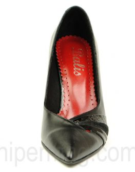 Елегантни дамски обувки от естествена кожа - Balis