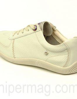 Бели дамски обувки Cravo & Canela