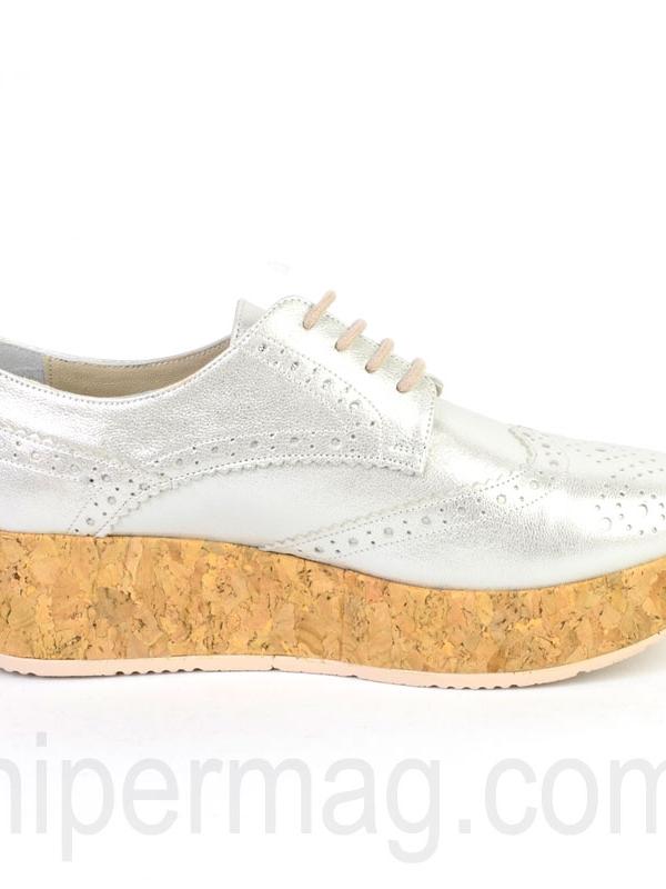 Дамски обувки Sara Pen с коркова подметка