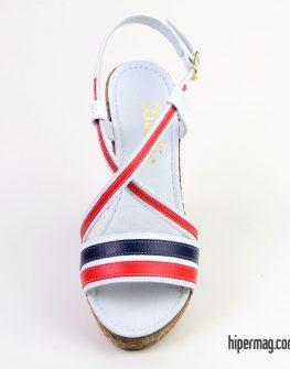 Многоцветни дамски сандали Balis с платформа