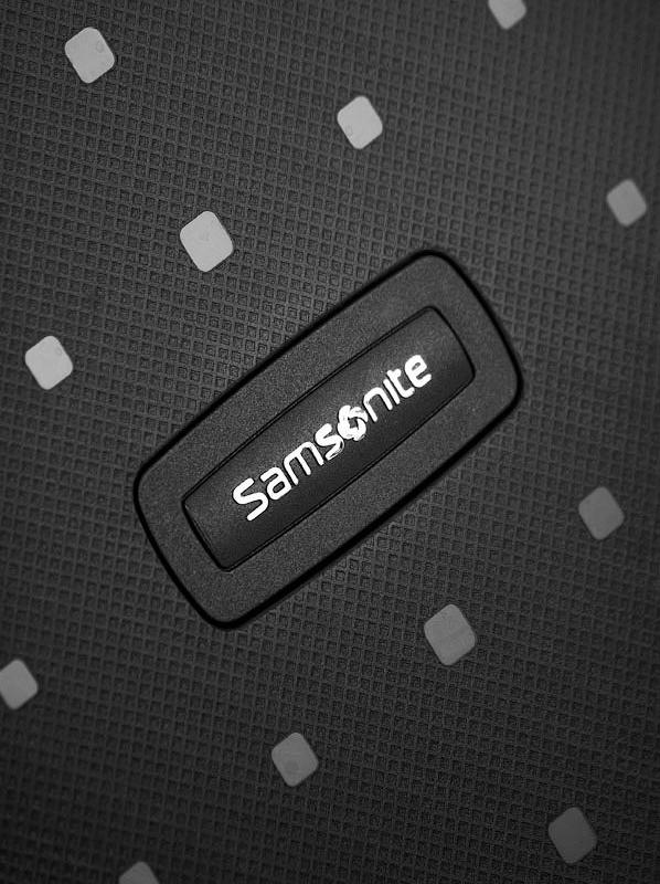 Спинер на 4 колела Samsonite S'Cure - 55 см., черен цвят
