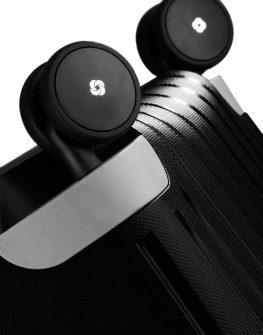 Спинер на 4 колела S'Cure 69 см черен цвят, среден размер - Samsonite