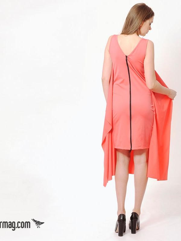 Екстравагантна рокля с цип на гърба – LaSpeciale