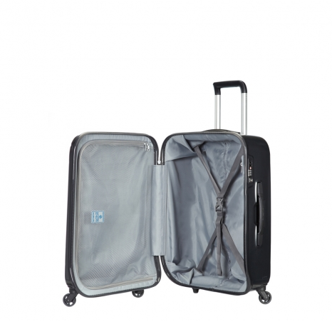Куфар на 2 колела Spin Trunk 55см в цвят графит - Samsonite