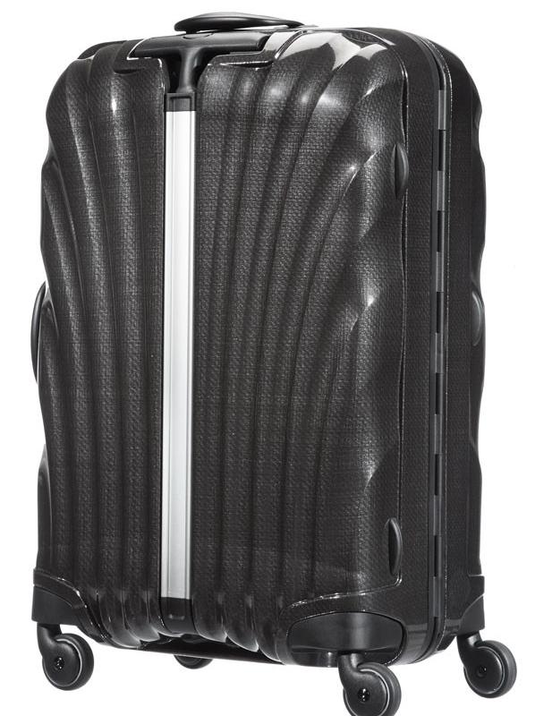 Черен спинер Samsonite на 4 колела LITE- LOCKED 69 см
