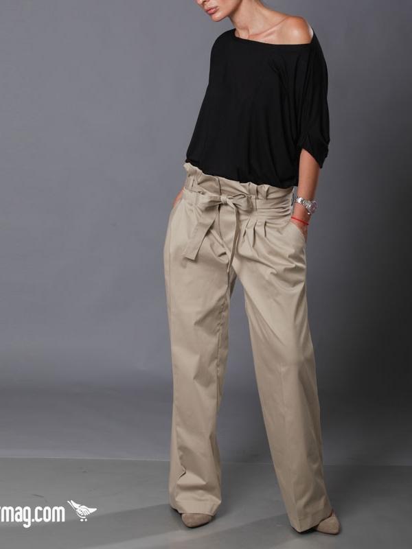 Елегантен широк панталон Aggata