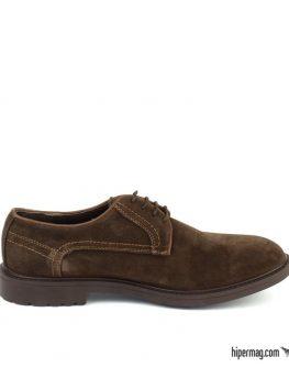 Тъмнокафяви ежедневни мъжки обувки Sara Pen