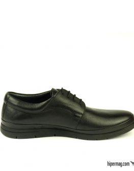 Удобни черни мъжки обувки