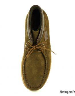 Зимни мъжки обувки от естествена кожа