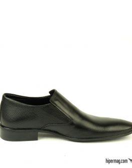 Черни мъжки обувки с изчистена линия