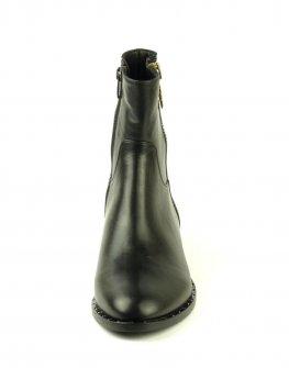 Стилни дамски боти Sara Pen в черно