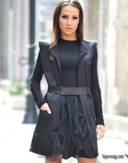 Черна дамска блуза La Speciale