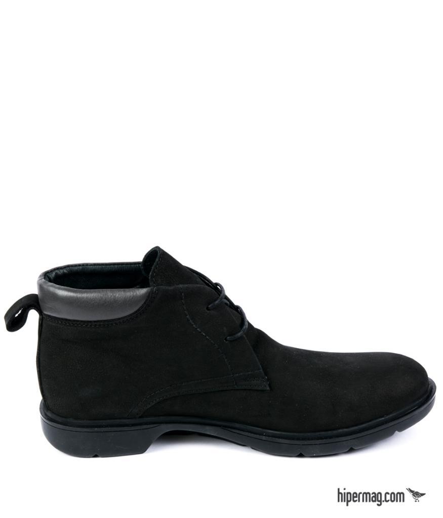 Спортно - елегантни мъжки обувки Sara Pen - черен цвят
