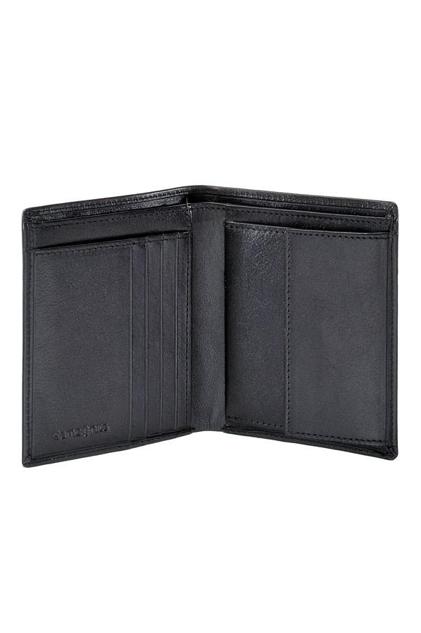 Стилен мъжки кожен портфейл Samsonite