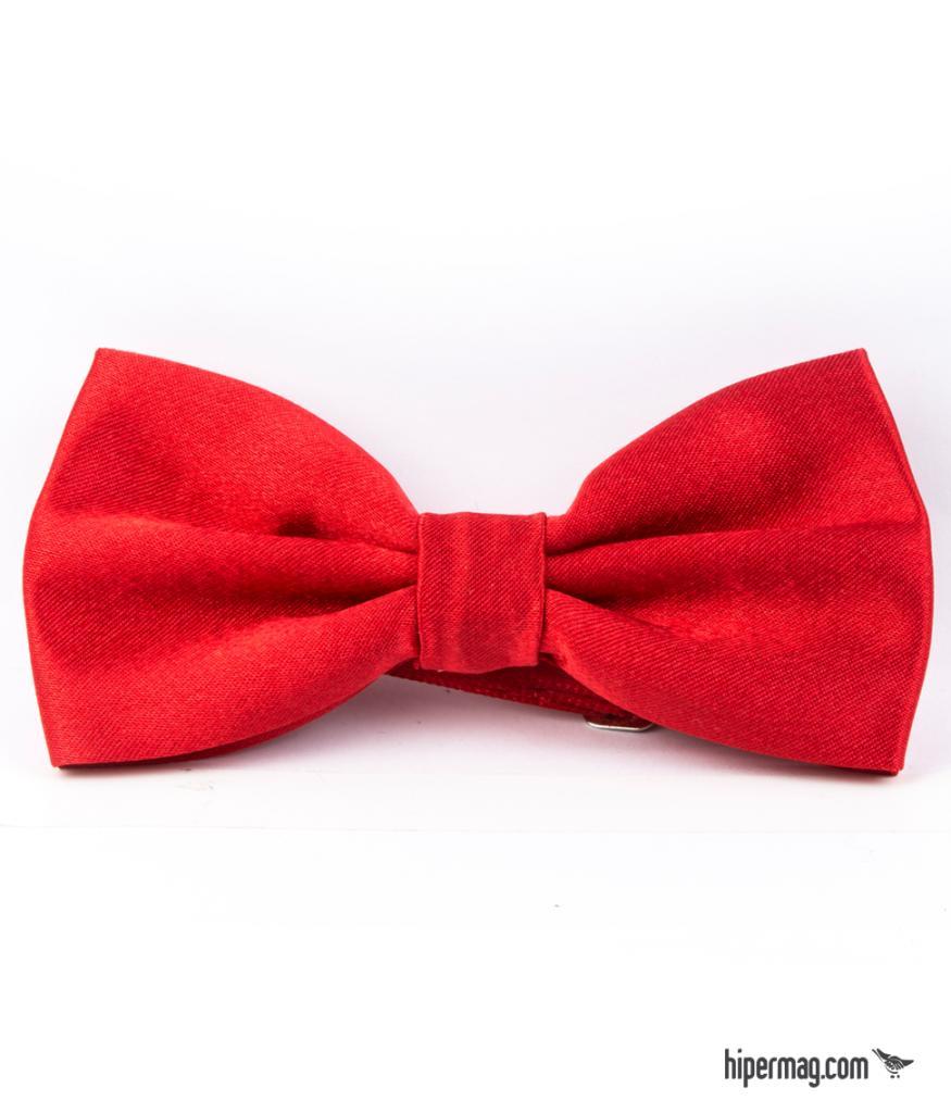 Ефектна папийонка в червено New Style