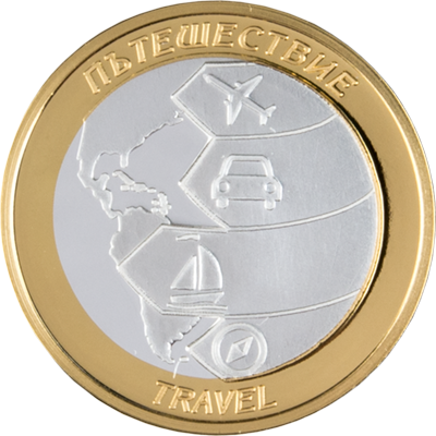 """Колекция """"Сребърни парички за късмет"""", с частично златно покритие"""