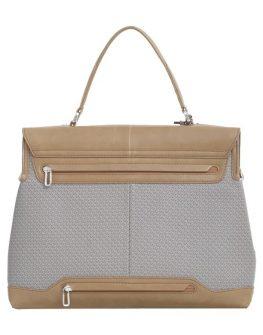 """Бизнес чанта с капак и елементи от кожа Samsonite 14.1"""" S-OULITE в сиво"""