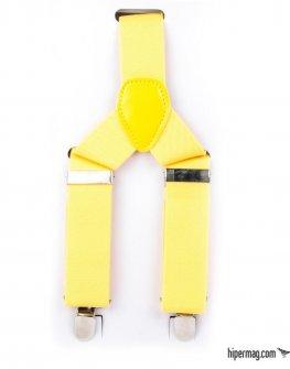 Класически модел тиранти в жълто Styler