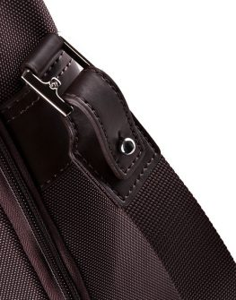 Елегантна бизнес чанта в кафяв цвят Samsonite
