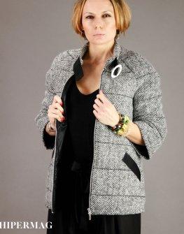Дамско палто с 3/4 ръкави AGGATA