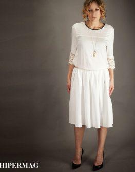 Ефирна бяла пола AGGATA
