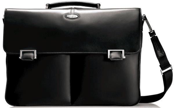 Кожена бизнес чанта Samsonite