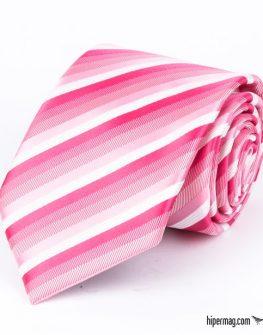 Стилна вратовръзка в розов цвят New Style