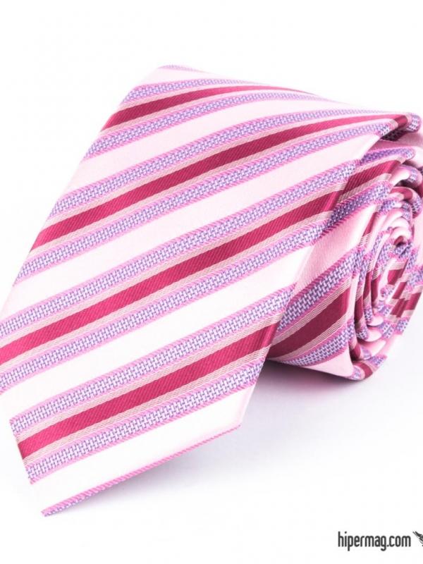 Мъжка вратовръзка в лилав цвят New Style