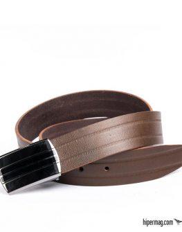 Елегантен мъжки колан Styler в кафяв цвят