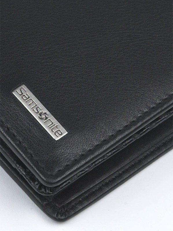 Стилен мъжки портфейл Samsonite от естествена кожа