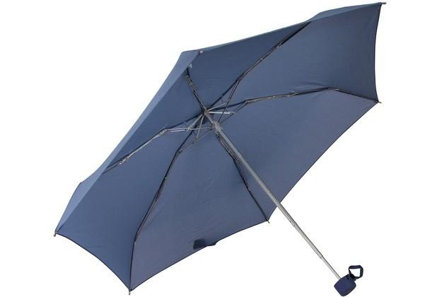 Ръчен чадър Samsonite в синьо