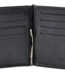 Samsonite – Черен мъжки портфейл от естествена кожа