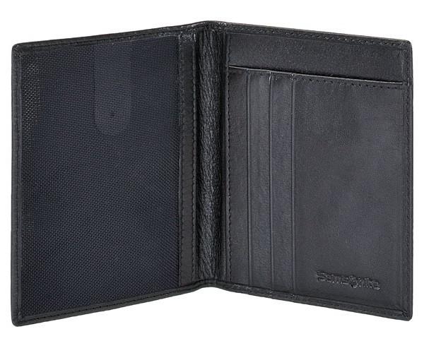 Елегантен портфейл в черен цвят Samsonite