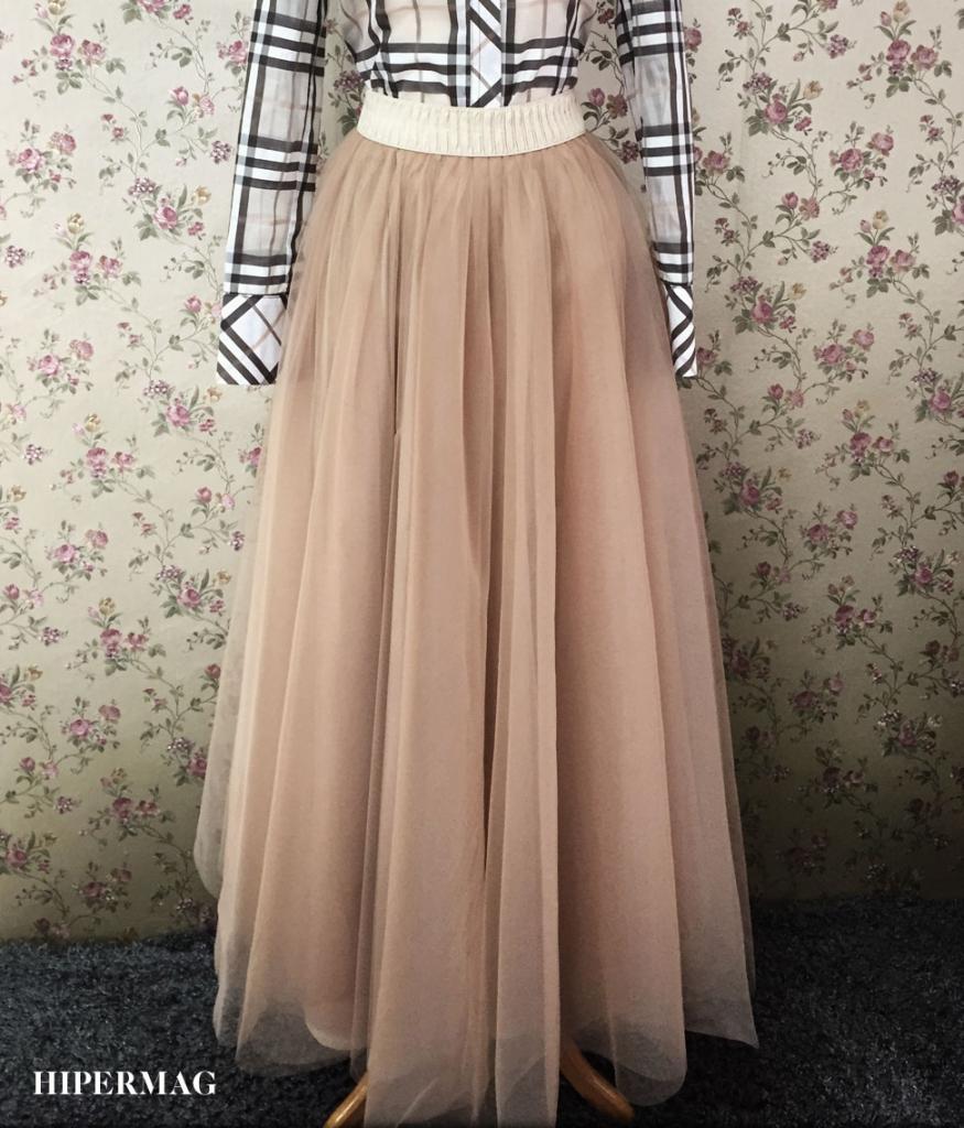 Дизайнерска пола от тюл Aggata