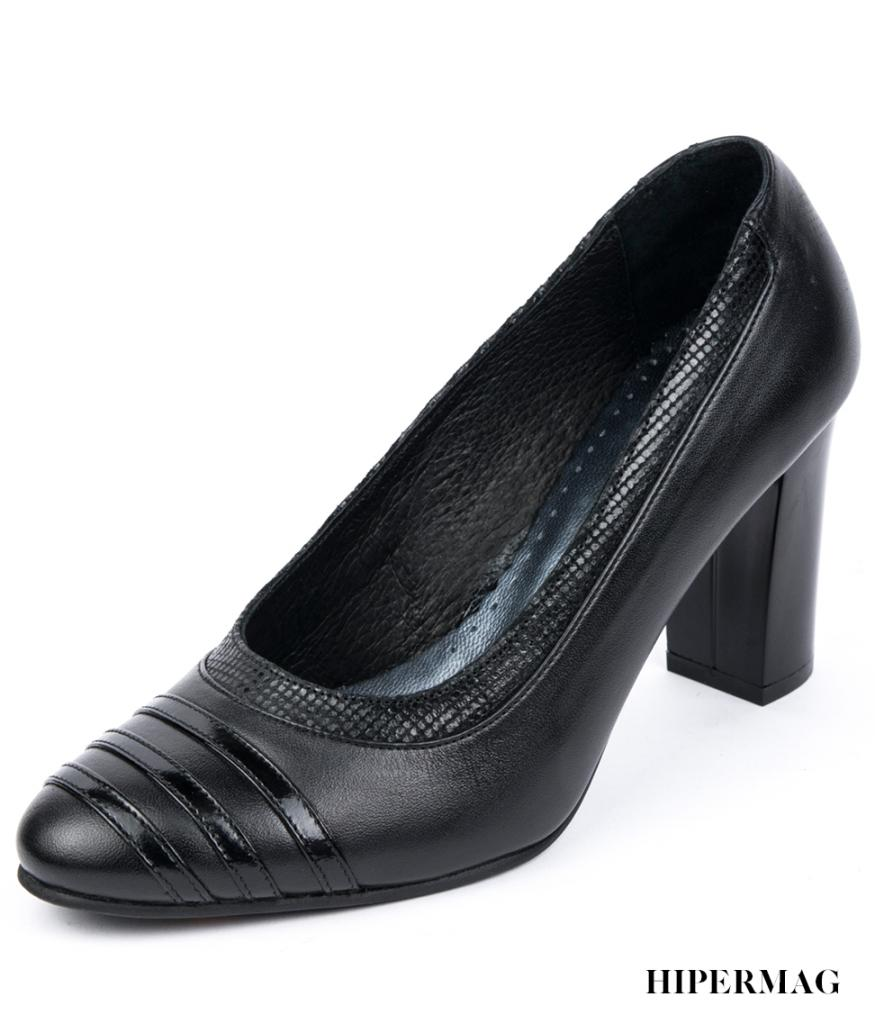 Стилни дамски обувки в черно Balis