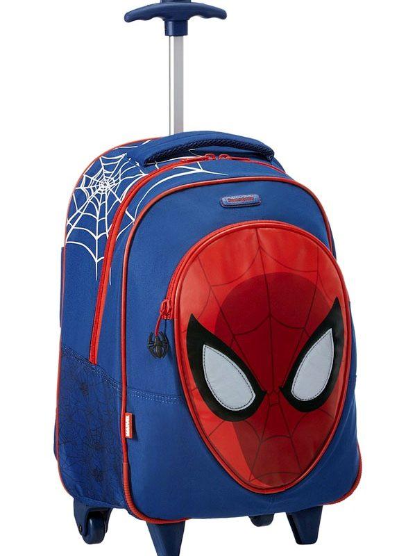 Ученическа раница Samsonite - Spiderman с колелца