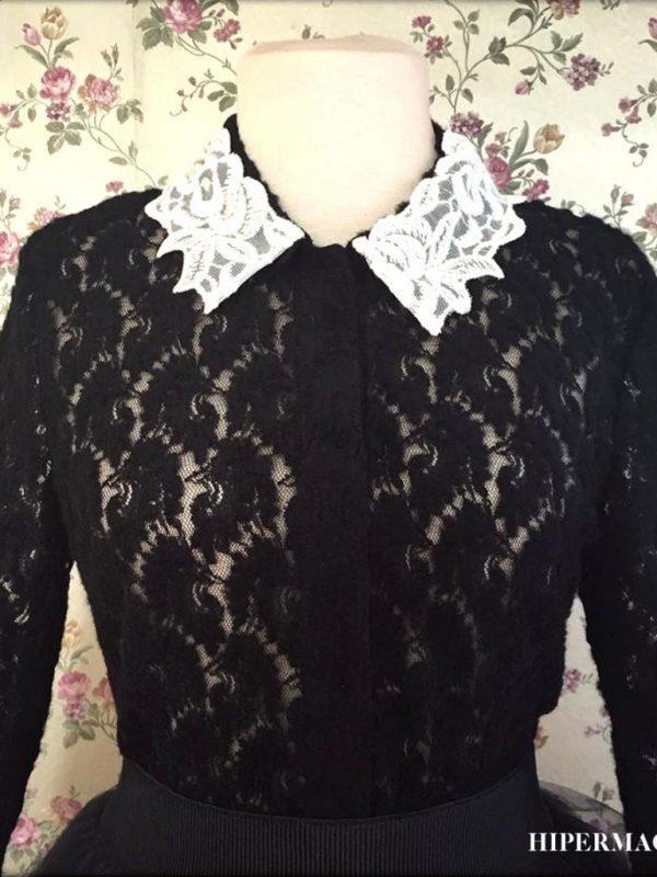 Дизайнерска дантелена риза Aggata