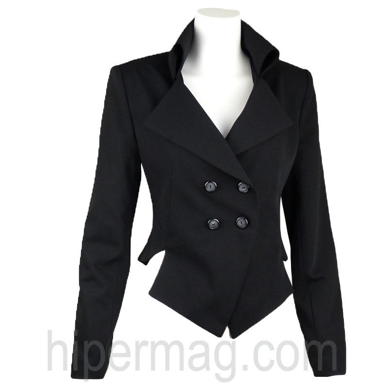 Дизайнерско бяло сако La Speciale
