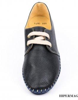 Ниски дамски обувки от естествена кожа Sara Pen